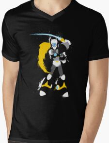 Copy Zero splattery design Mens V-Neck T-Shirt
