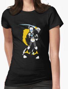 Copy Zero splattery design Womens Fitted T-Shirt