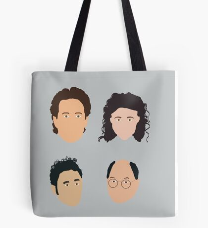 Jerry, Elaine, Kramer, George Tote Bag