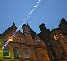 Lights in Edinburgh by Elizabeth Izzo