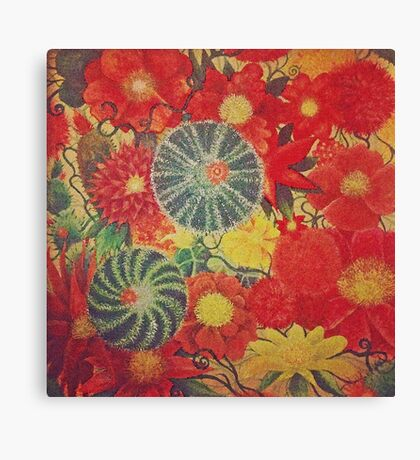 Mexican garden  Canvas Print