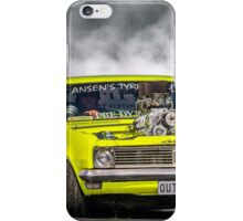 OUTLAW Tread Cemetery Burnout iPhone Case/Skin