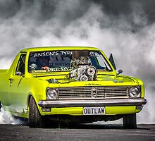 OUTLAW Tread Cemetery Burnout by VORKAIMAGERY