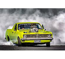 OUTLAW Tread Cemetery Burnout Photographic Print