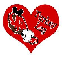 Turkey Leg Love Photographic Print