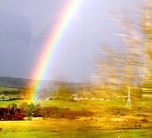 Rainbow to Glasgow by Elizabeth Izzo