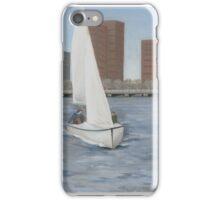 Sailing the Charles iPhone Case/Skin