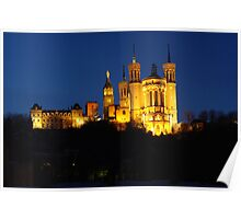 Basilica of Fourviere Poster