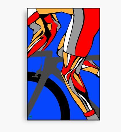 Tour De France Legs Canvas Print