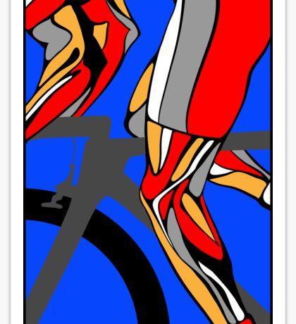 Tour De France Legs Sticker