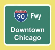 INTERSTATE 90: DOWNTOWN CHICAGO by S DOT SLAUGHTER