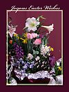 Easter Mini Flower Garden Greeting Card by MotherNature