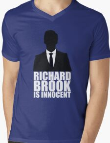 Richard Brook is Innocent Mens V-Neck T-Shirt