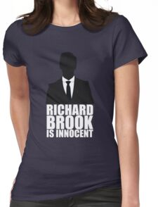 Richard Brook is Innocent Womens Fitted T-Shirt