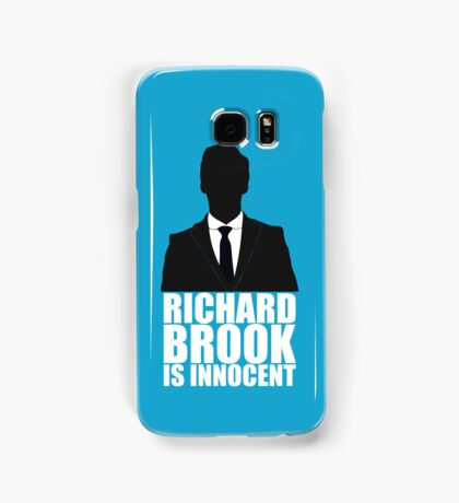 Richard Brook is Innocent Samsung Galaxy Case/Skin