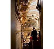 Choir View Photographic Print