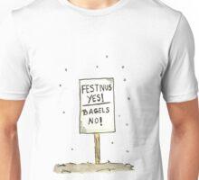 Festivus Yes, Bagels NO! T-Shirt