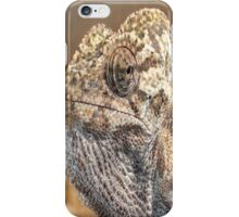 Chameleon with Attitude iPhone Case/Skin