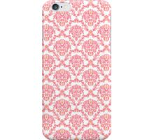 pink vintage pattern iPhone Case/Skin