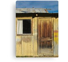 Clyde shed Canvas Print