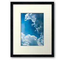 Cloud Survey Framed Print