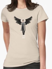 Weeping Cas Womens Fitted T-Shirt