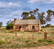 Remains of another Time VI - Sedan, Murraylands, South Australia by Mark Richards