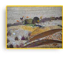Uneven Ground Canvas Print