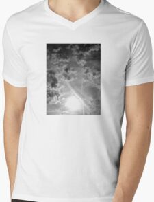 Cloud Bombshell Mens V-Neck T-Shirt