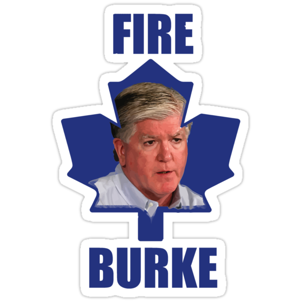 Toronto Maple Leafs - Fire Burke (Blue on White/Pink) by marinasinger