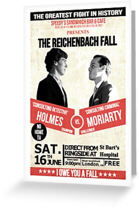 HOLMES vs MORIARTY by thanksforthetea