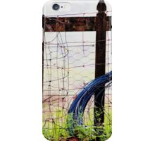 broken picket fences iPhone Case/Skin