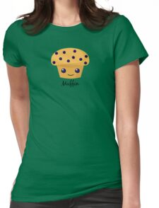 Happy muffin Womens Fitted T-Shirt