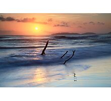 Sunrise at Rainbow Beach  Photographic Print