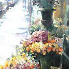 Florist after the rain by vasenoir