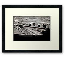 DC-3 Side profile Framed Print