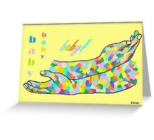 American Sign Language BABY Greeting Card