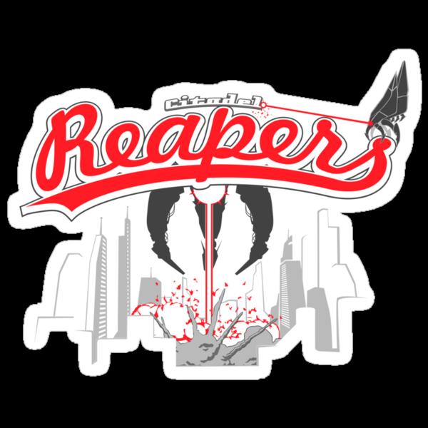 Citadel Reapers by kgullholmen