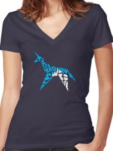 Gaff's Concession Women's Fitted V-Neck T-Shirt