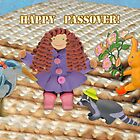Happy Passover Card by curlyorli
