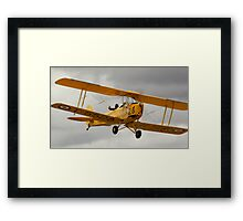 Bombs away! Tiger Moth Framed Print