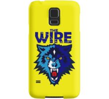 Warrington- The Wire Samsung Galaxy Case/Skin