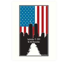 9/11 Art Print