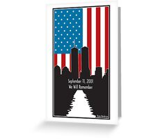 9/11 Greeting Card