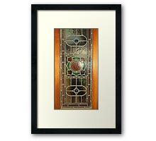 Victorian pane Framed Print