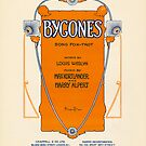 BYGONES (vintage illustration) by ART INSPIRED BY MUSIC