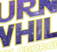 JOURNAL of the WHILLS (stars) Sticker