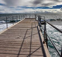 End of the Road...Port Noarlunga, Australia by Ali Brown