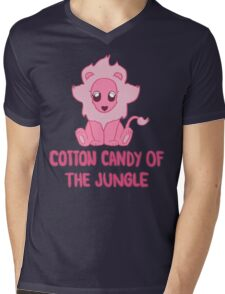 Cotton Candy of the Jungle Mens V-Neck T-Shirt
