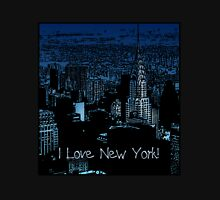 I Love NY! Inky Blues Unisex T-Shirt